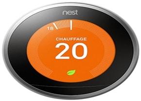 Thermostat Nest 3e génération, détails, avis, offre
