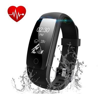 montre connectée et bracelet d'activité