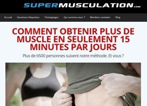 Musculation à domicile pendant 15 minutes par jour