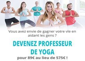 Comment devenir professeur de yoga certifié?