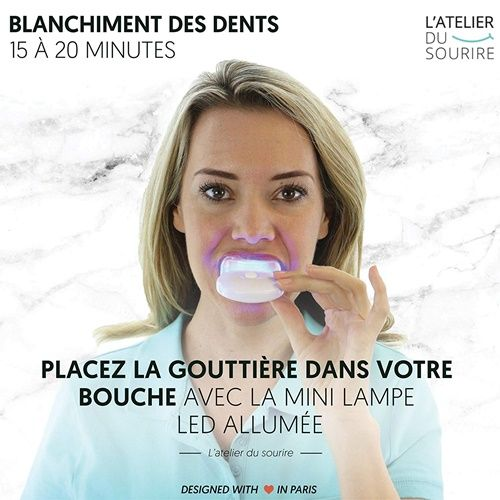 Kit blanchiment dentaire