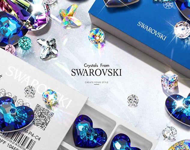 Collier coeur Swarovski