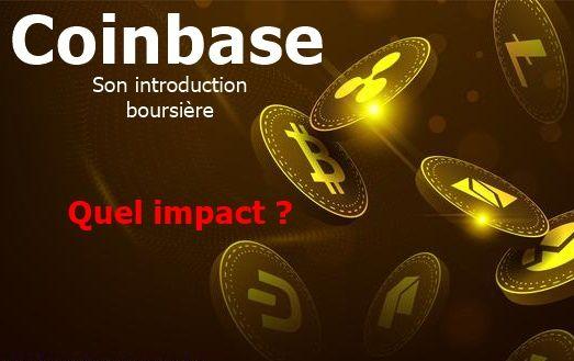 Coinbase et son introduction boursière