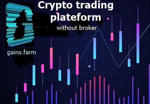 Crypto trading plateform