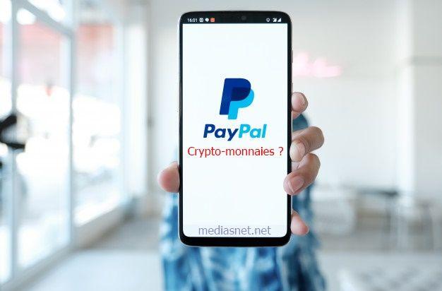 Paypal et les crypto-monnaies