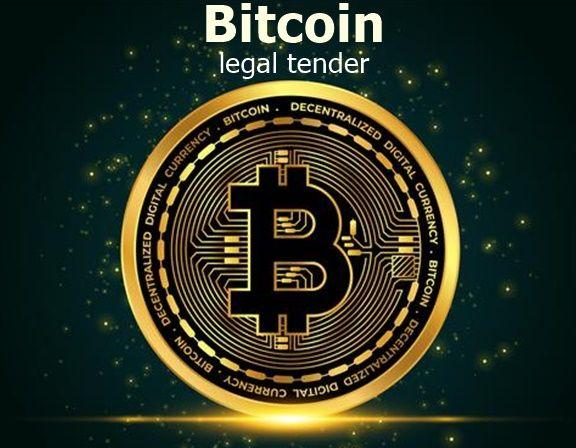 Bitcoin legal tender