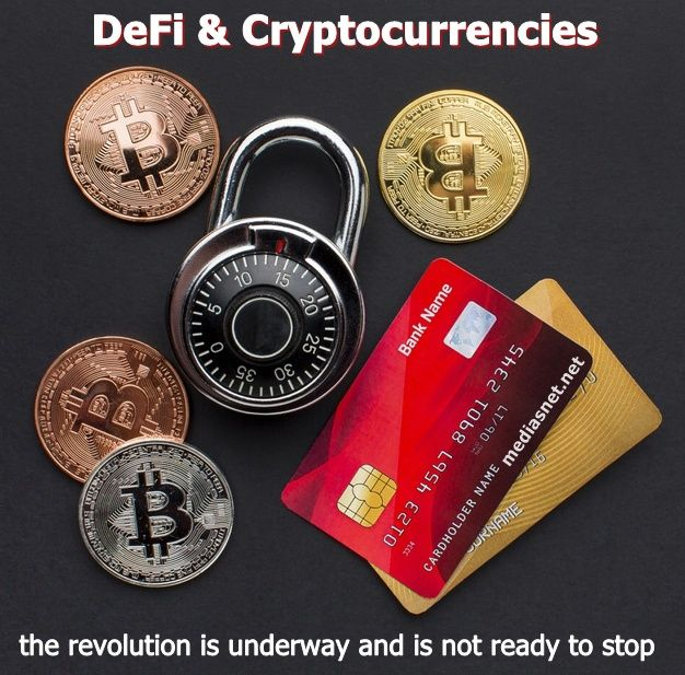 DeFi and cryptocurrencies