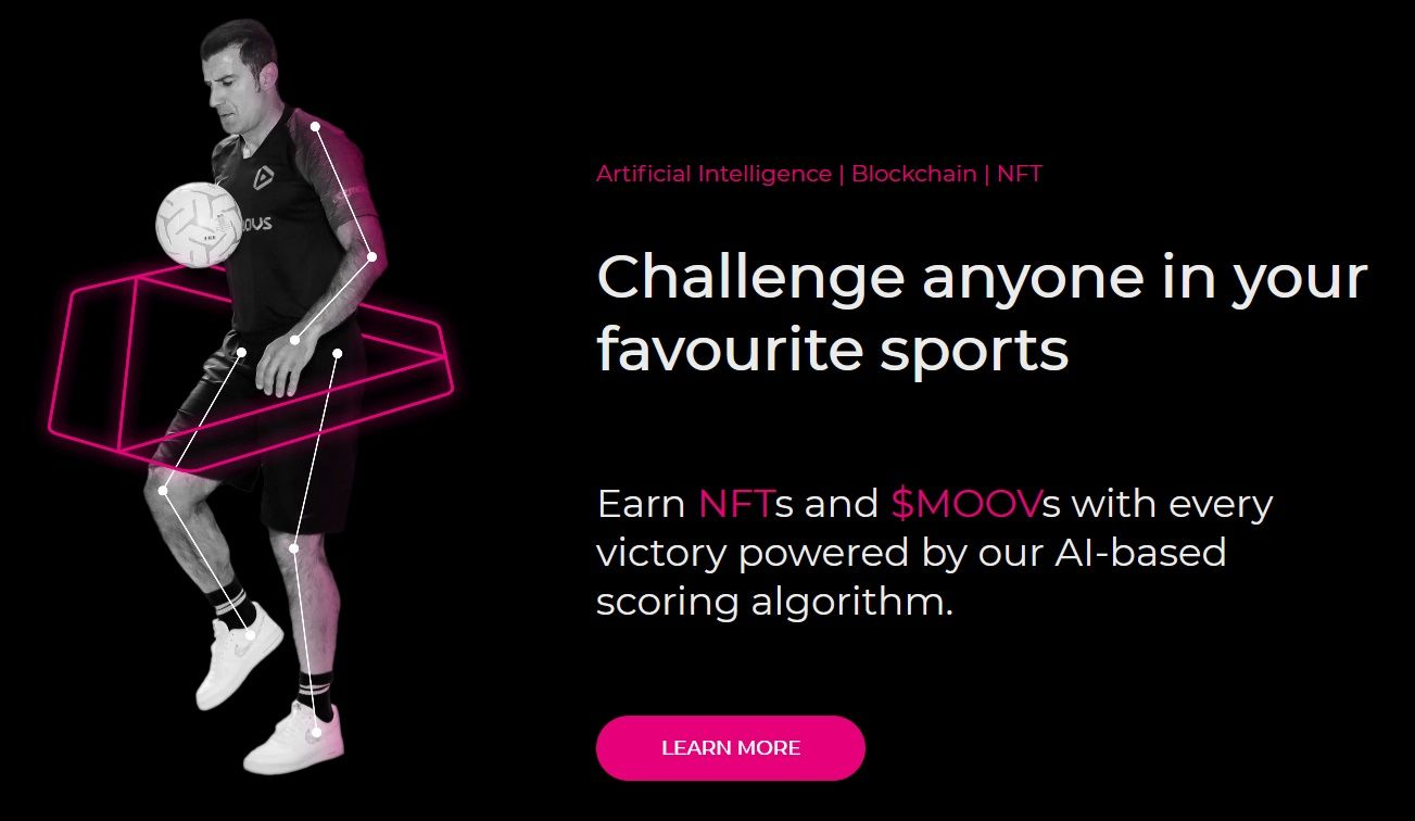Sport and blockchain with Dotmoovs