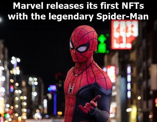 Marvel, NFTs Spider-Man