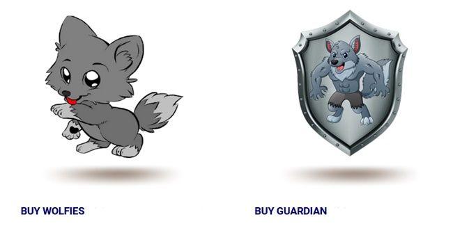 Wolf Den, Guard token and Wolfies token