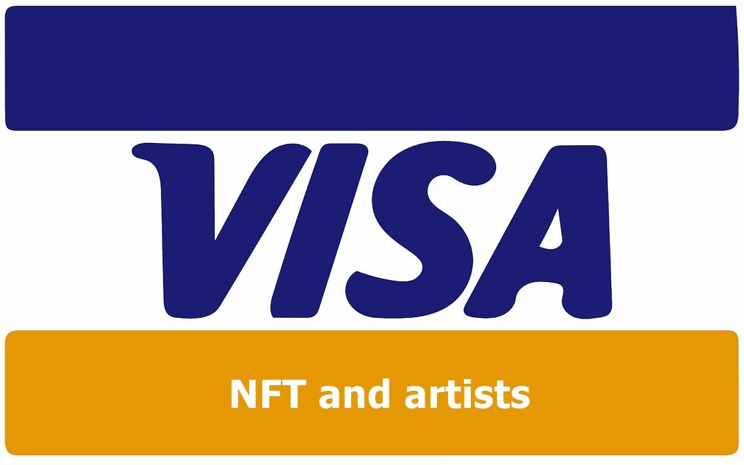 Visa NFT and artists